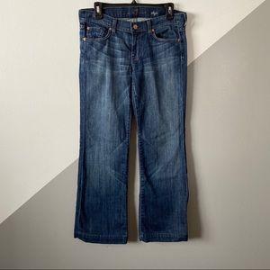 7FAM sz29 Dojo Flare Jeans